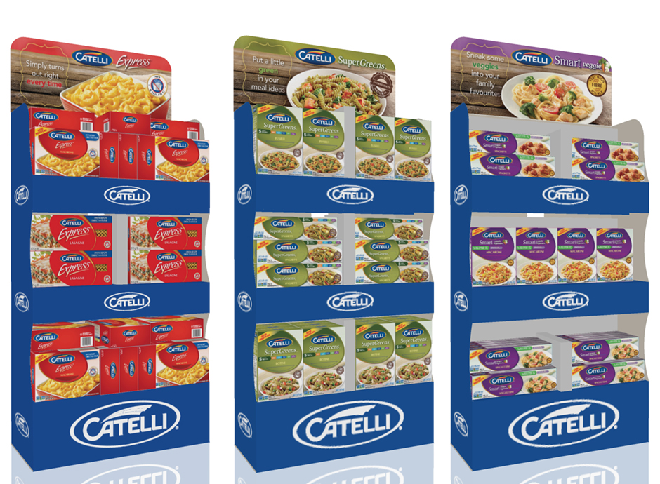Catelli Instore pos